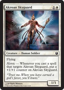Akroan Skyguard - Foil