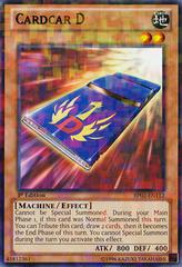 Cardcar D - BP02-EN112 - Mosaic Rare - Unlimited