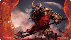 Ultra Pro Born of the Gods Playmat - Mogis, God of Slaughter on Channel Fireball