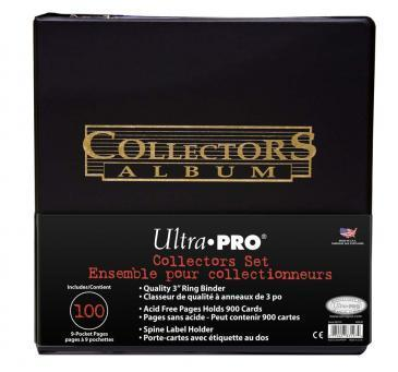 3 Black Collectors Album Gold Foil w/ Pages