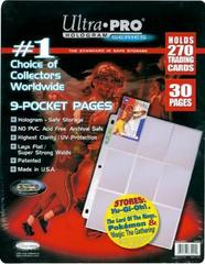 9-Pocket Platinum Pages 20 Count Display (30-pack)