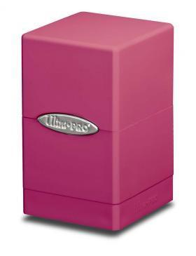 Bright Pink Satin Tower