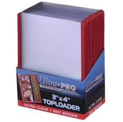 Red Border - Topload (Ultra Pro) - 3