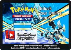 Black Kyurem-EX Power Collector's Tin Unused Code Card