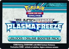 Plasma Freeze Booster Pack Code Card