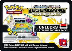 Legendary Treasures Booster Pack Code Card