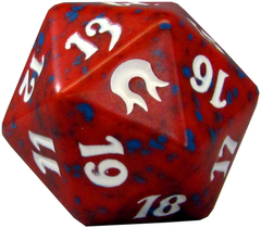 20 Sided Spindown Die - Born of the Gods (Red) on Channel Fireball