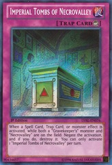 Imperial Tombs of Necrovalley - LVAL-EN076 - Secret Rare - Unlimited