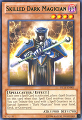 Skilled Dark Magician - Green - DL15-EN001 - Rare - Unlimited Edition
