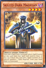 Skilled Dark Magician - Red - DL15-EN001 - Rare - Unlimited Edition