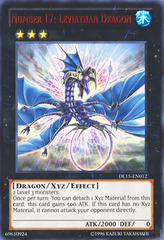 Number 17: Leviathan Dragon - Red - DL15-EN012 - Rare - Unlimited Edition