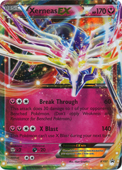 Xerneas-EX - XY07 - Promotional - Legends of Kalos Exclusive