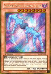 Gimmick Puppet Shadow Feeler - PGLD-EN012 - Gold Secret Rare - 1st Edition