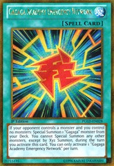 Gagaga Academy Emergency Network - PGLD-EN028 - Gold Secret Rare - 1st Edition