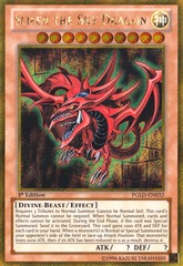Slifer the Sky Dragon - PGLD-EN032 - Gold Secret Rare - 1st Edition