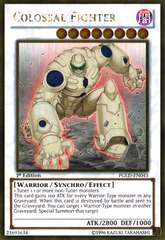 Colossal Fighter - PGLD-EN043 - Gold Rare - 1st Edition