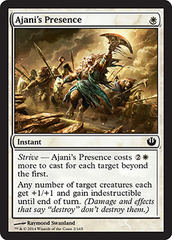 Ajani's Presence - Foil on Channel Fireball