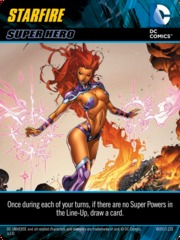 DC Comics Deck-Building Game: Starfire