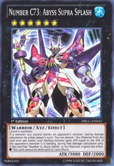 Number C73: Abyss Supra Splash - DRLG-EN041 - Super Rare - 1st Edition