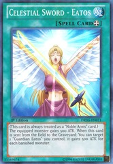 Celestial Sword - Eatos - DRLG-EN011 - Super Rare - 1st Edition