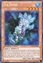 Ice Hand - DRLG-EN047 - Secret Rare - 1st Edition on Channel Fireball