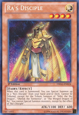 Ra's Disciple - DRLG-EN024 - Secret Rare - 1st Edition