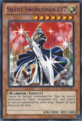 Silent Swordsman LV7 - Green - DL17-EN003 - Rare - Unlimited Edition on Channel Fireball