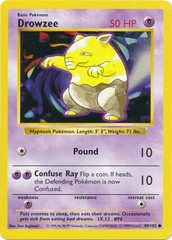 Drowzee - 49/102 - Common - Shadowless Edition