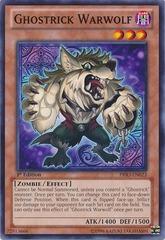 Ghostrick Warwolf - PRIO-EN023 - Common - 1st Edition