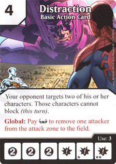 Basic Action Card - Distraction (Card Only)
