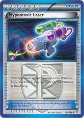 Hypnotoxic Laser - 123 - Promotional - Crosshatch Holo 2012 Player Rewards