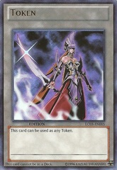 Emissary of Darkness Token - LC03-EN005 - Ultra Rare - Unlimited Edition
