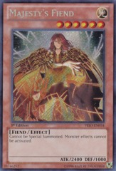 Majesty's Fiend - PRIO-EN034 - Secret Rare - Unlimited Edition