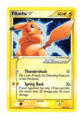 Pikachu - 104/110 - Shiny Rare Holo
