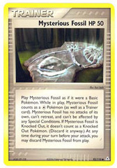 Mysterious Fossil - 92/110 - Common