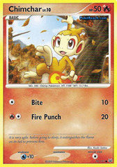 Chimchar - 70/127 - Common