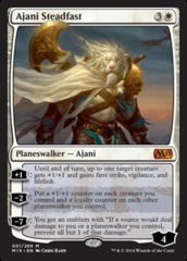 Ajani Steadfast on Channel Fireball