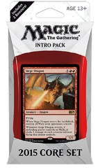 Magic 2015 (M15) Intro Pack - Red on Channel Fireball