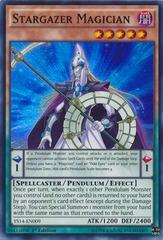 Stargazer Magician - YS14-EN009 - Super Rare - 1st Edition