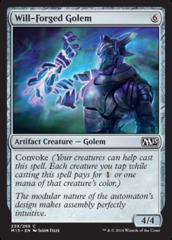 Will-Forged Golem - Foil