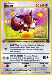 Eevee - 51/64 - Common - 1999-2000 Wizards Base Set Copyright Edition