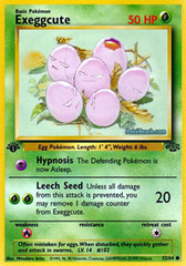 Exeggcute - 52/64 - Common - 1999-2000 Wizards Base Set Copyright Edition