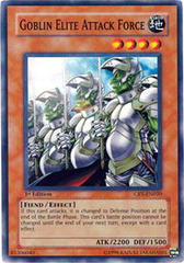 Goblin Elite Attack Force - CRV-EN020 - Super Rare - 1st Edition