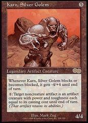 Karn, Silver Golem on Channel Fireball