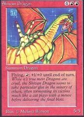 Shivan Dragon on Channel Fireball