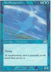 Air Elemental on Channel Fireball