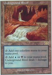 Underground River on Channel Fireball