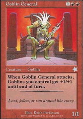 Goblin General on Channel Fireball