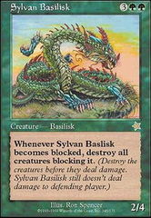 Sylvan Basilisk on Channel Fireball
