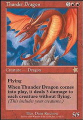 Thunder Dragon on Channel Fireball